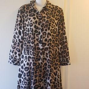 Banana republic cheetah dress